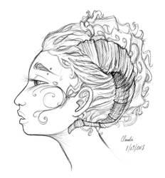 Random Sketch by Claudie-G