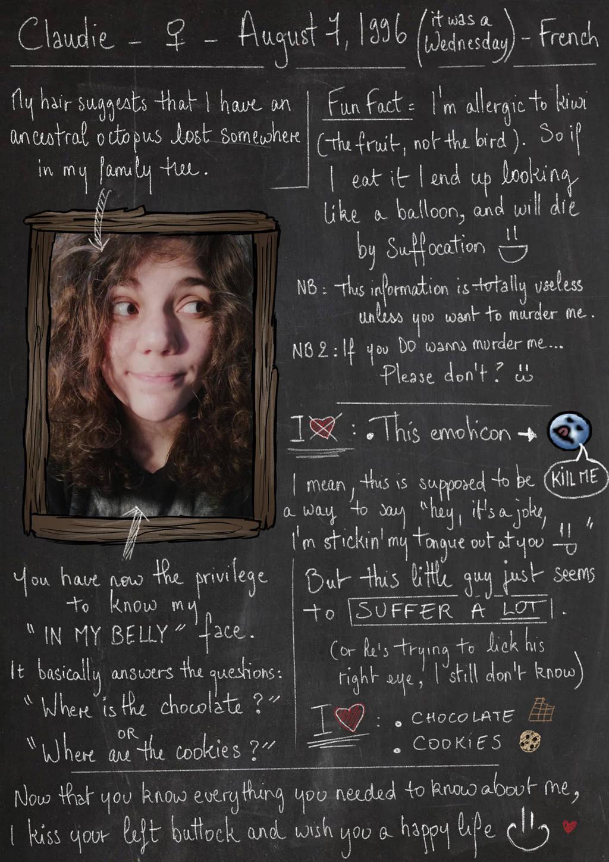 Claudie-G's Profile Picture