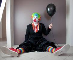 Evil Clown 10 by kirilee