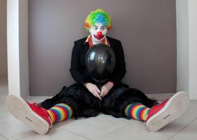 Evil Clown 14 by kirilee