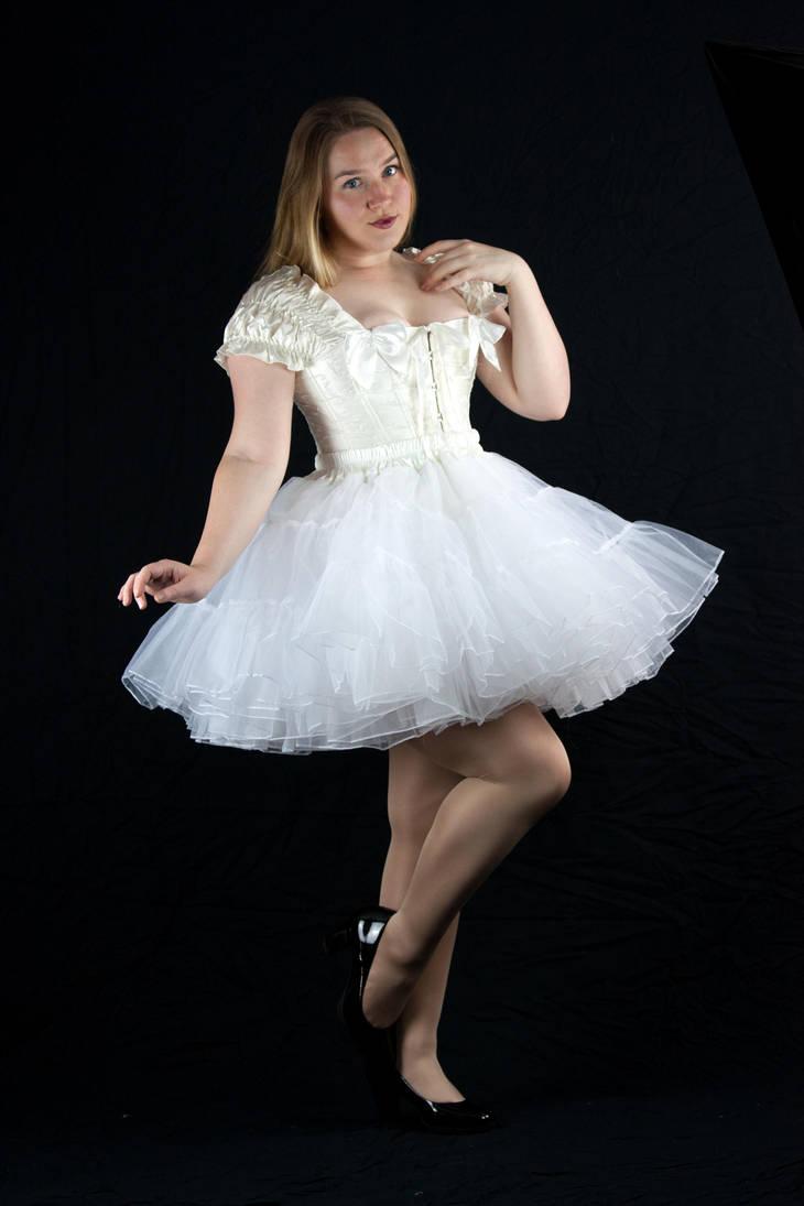 White Petticoat by kirilee