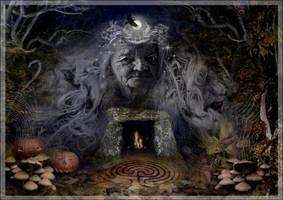 Samhain Goddess by ArwensGrace