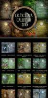 CELTIC LUNA CALENDAR for 2010 by ArwensGrace