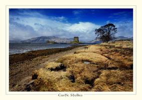 Castle Stalker, Scotland by ArwensGrace