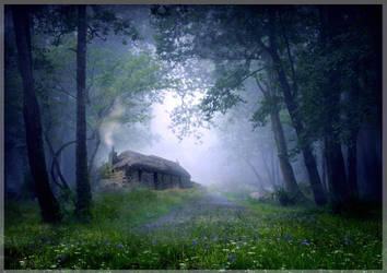 The Cottage in the Woods by ArwensGrace