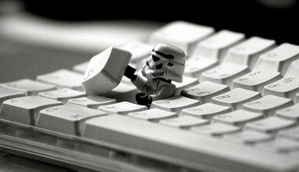 Keyboard Trooper by miss-chang