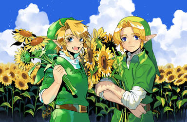 Sunflowers by joodlez