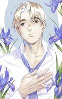 Blue Iris by joodlez