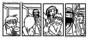 RL comic 3 - Happy BDay Mom by hrfarrington