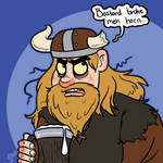 Theme Challenge - Viking by hrfarrington
