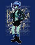 Character Design Challenge - Punk by hrfarrington