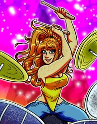 GDG Theme - Sexy Drummer by hrfarrington