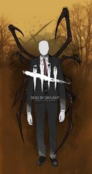 Dead by Daylight Killer Concept: The Slenderman by DeinonychusEmpire