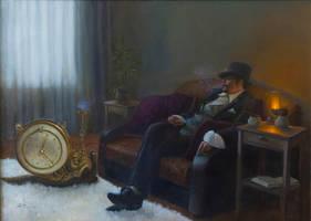 Time smoker by Fesechko