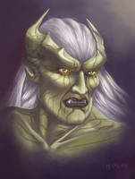 Kain's portrait by AirenKain