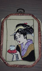 Namiwaya Okita by Tsukinin