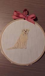Labrador dog by Tsukinin