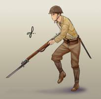 IJA fast sketch by AFBA