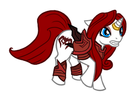 My Little Shadowscythe Empress by GriffinFire