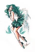 Sailor Neptune by PixelatedLocket