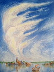 Behind Great Sails (Sold) by Dunn95