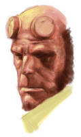 Hellboy by tze1