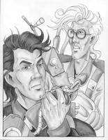 Egon and Peter by SandySchreiber