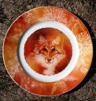 Autumnal Fox Small by SandySchreiber
