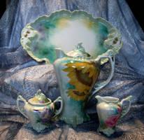 Tea Set by SandySchreiber