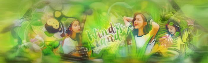 Windy land by Konyliayuting