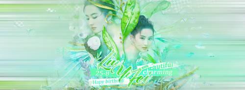 Happy birthday Liu Yi Fei-25/8 by Konyliayuting