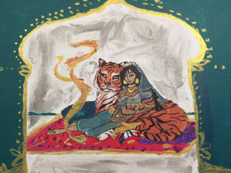 Jasmine and Rajah by Impulse-Comics