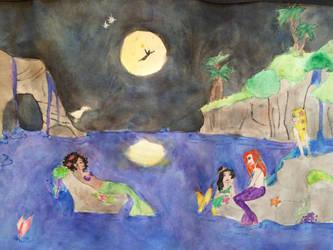 I want the Mermaid Life by Impulse-Comics