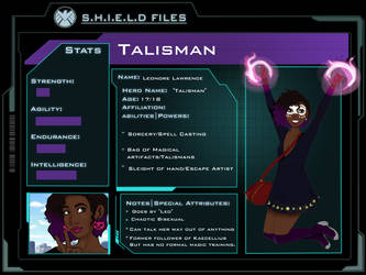 Talisman APP (Marvel OC) by Impulse-Comics