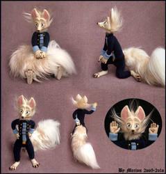 Fox Puppet by Myszoskok