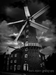 Haunted Windmill by jasonthe5150
