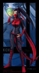 Kichi - commission for J by lizleeillustration