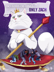 Only Zach by lizleeillustration
