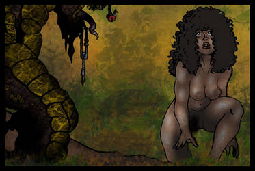 Maya the Jungle Girl - Saurosapien Horror! by StudioAkumakaze