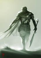 Desert Warrior by MrTomLong