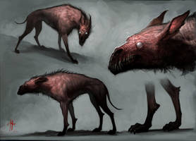 Hell Hound Concept by MrTomLong