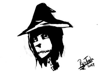 Skelletal Witch by RyuTech