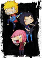 Konoha Rock Punk by pi-ka