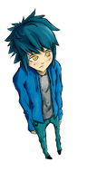blue boy by pi-ka