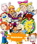 Classic Nicktoons Mash Up by Lilylicious17