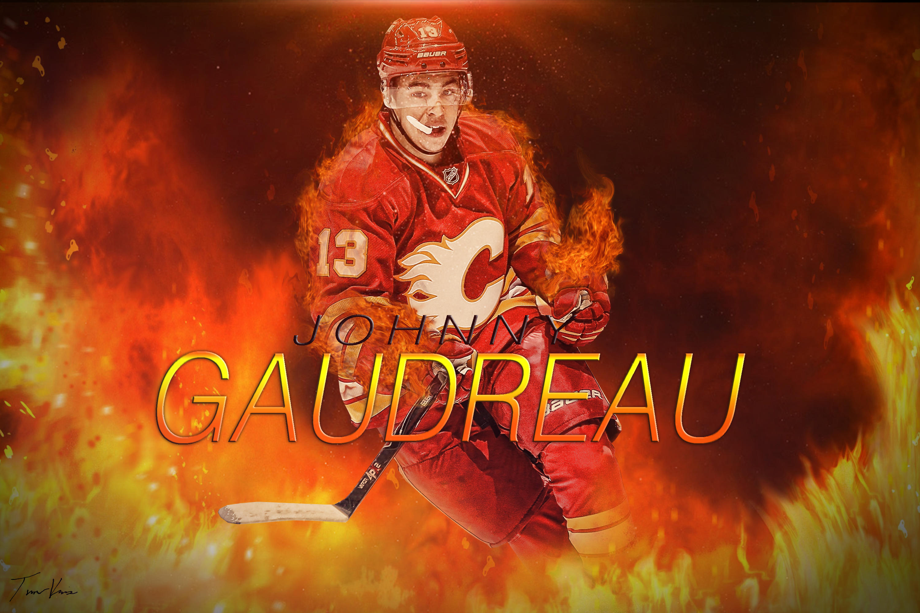 Johnny Gaudreau By TheHockeyZonee On DeviantArt