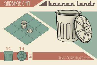 Barren Lands Garbage Can by storag