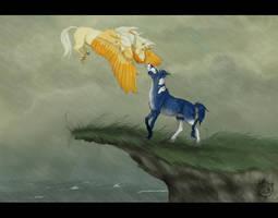 Kiss the Rain by hypnocampus