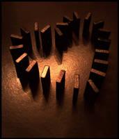 Domino Heart by valaMS