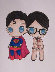 Superman-Chibi by valaMS